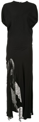 CHRISTOPHER ESBER The Ruched split dress