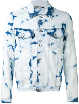 McQ by Alexander McQueen Billy denim jacket - men - Cotton/Polyester/Spandex/Elastane - 52