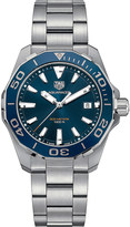 Tag Heuer WAY111CBA0928 aquaracer stainless steel blue mens