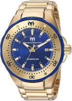 Technomarine Men's Manta 48mm Steel Bracelet & Case Automatic Watch Tm-215096