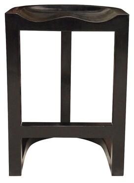 """Noir Saddle Bar & Counter Stool Seat Height: Counter Stool (26"""" Seat Height)"""
