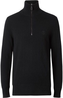 Burberry cashmere TB motif jumper
