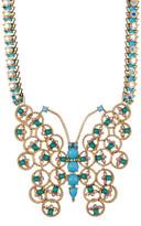 Betsey Johnson Large Butterfly Pendant Necklace