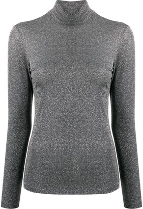 Liu Jo Glitter High Neck Top