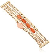 Kenneth Cole New York Coral Canyon Mixed Shell and Bead Multi-Row Bracelet
