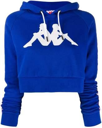 Kappa cropped hoodie