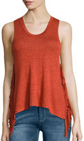 i jeans by Buffalo Hacci Fringe Tank Top