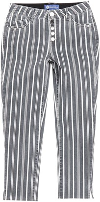 Democracy AbSolution Striped High Waisted Jeans