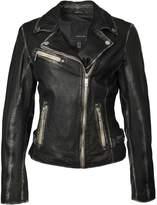 MAURITIUS - Perfecto Luv Leather Jacket - Black