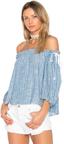 Sam&lavi Sachi Top in Blue. - size M (also in S,XS)