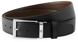 Montblanc Trapeze Adjustable & Reversible Leather Belt