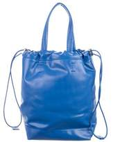 Paco Rabanne Logo Drawstring Bucket Bag