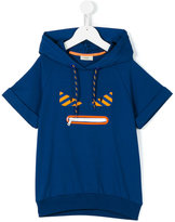 Fendi Monster hooded sweatshirt - kids - Cotton/Spandex/Elastane - 12 yrs