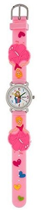 Dakota Girl's 60004 Princess Analog Quartz Pink Watch