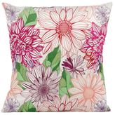 Nourison Floral Print Pillow