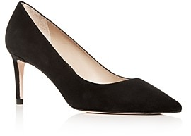 Stuart Weitzman Women's Leigh Pointed-Toe Pumps