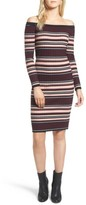 Cupcakes And Cashmere Women's Tommy Off The Shoulder Body-Con Dress