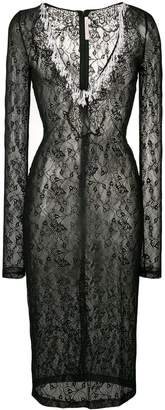 Christopher Kane pearl stretch lace dress