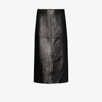 Joseph Sidena high-waisted midi skirt