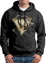 Sarah Men's Pittsburgh Penguins Gold Hoodie L