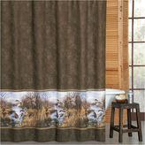 Asstd National Brand Duck Approach Shower Curtain