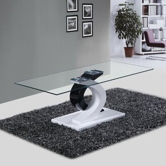 Fab Glass and Mirror Milano Coffee Table Fab Glass and Mirror