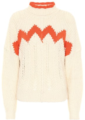 Isabel Marant Bell cotton and linen-blend sweater