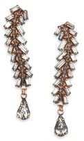 Erickson Beamon War Of The Roses Crystal Drop Earrings