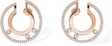 Messika Move Romane Large Rose Gold Hoop Earrings