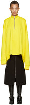 Marques Almeida Yellow Oversized Pullover