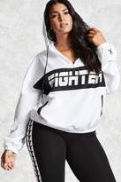 Forever 21 FOREVER 21+ Plus Size BCA Fighter Pullover