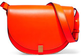 Victoria Beckham Half Moon Box Neon Leather Shoulder Bag - Orange