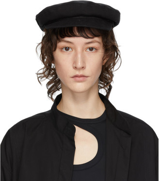 Ann Demeulemeester Black Fisherman Hat