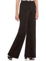 Kasper Petite Knit Concepts Wide-Leg Pants