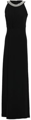 MICHAEL Michael Kors Embellished Stretch-crepe Gown