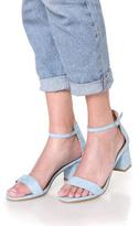 Fuzzi Classic Light Blue Heels