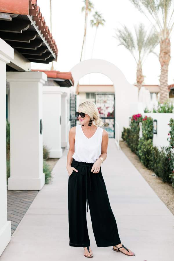 Gibson Sedona Wide Leg Ankle Pant