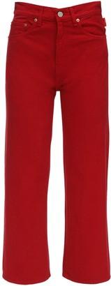 Denimist Pierce High Waist Cotton Denim Jeans