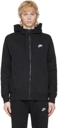 Nike Black Club Full-Zip Hoodie