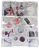 Caboodles® Cosmetic Counter 6 Compartment Acrylic Tray