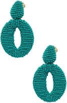 Oscar de la Renta Women's Statement Clip-On Earrings