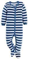 Coccoli Velour Striped Footie (Baby Boys)