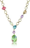 A-Z Collection Multicolor Drop Necklace
