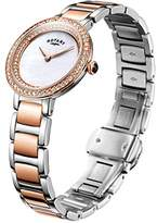 Rotary 'Petite' Quartz Gold and Stainless Steel Casual Watch