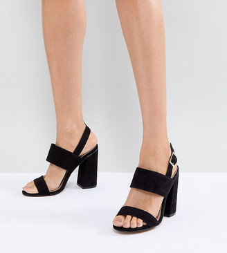 Asos Design HUSTLE block heeled sandals