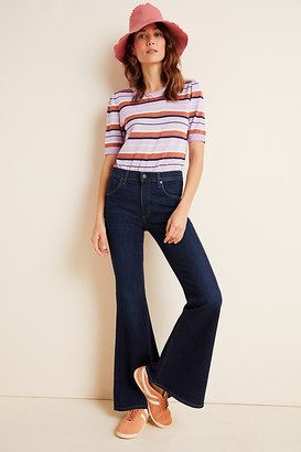 Citizens of Humanity Chloe Mid-Rise Flare Petite Jeans By in Blue Size 25 P