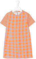 Marni grid print T-shirt dress - kids - Cotton - 4 yrs