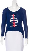 Torn By Ronny Kobo Long Sleeve Knit Top