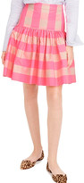 J.Crew Factory J. Crew Factory Neon Buffalo Check Taffeta Skirt (Regular & Petite)