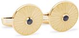 Deakin & Francis 18-Karat Gold Sapphire Cufflinks